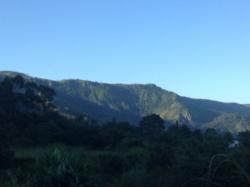 One of the many mountains at Honde Valley