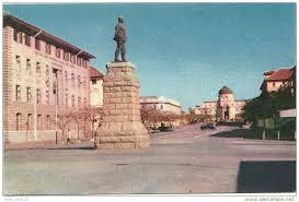 A statue of Rhodes in formerly Southern Rhodesia
