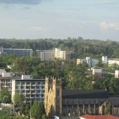 The Sacred Heart Cathedral along Simon Muzenda Street